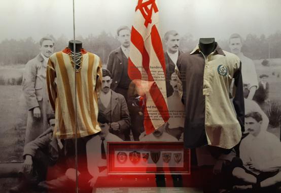 Les tenues les plus anciennes du football espagnol.