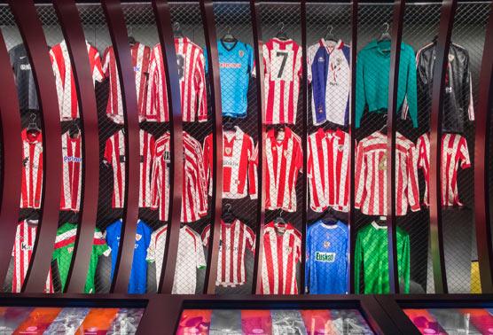 La trajectoire de l'Athletic via 1000 objets originaux