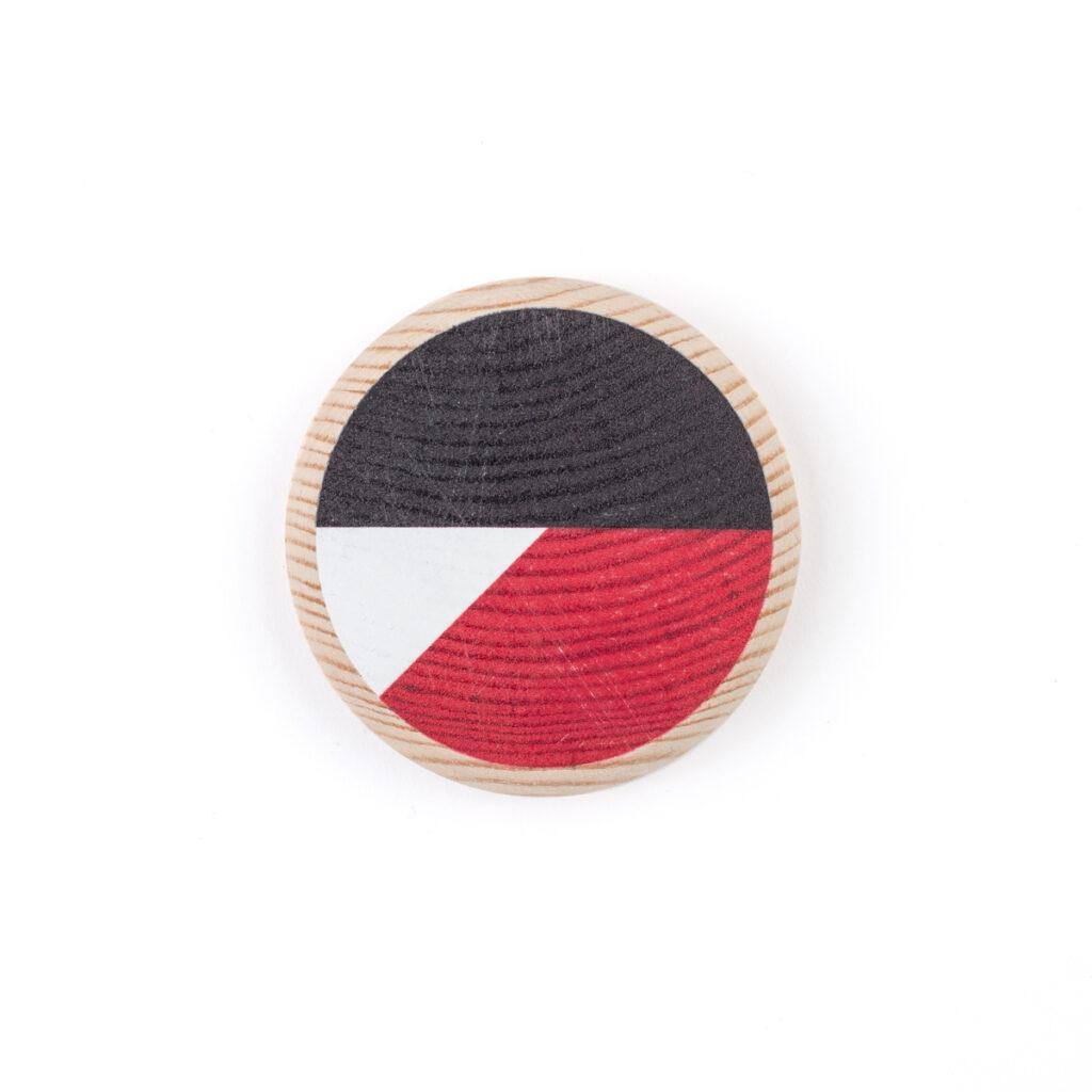Imagen 1 de producto Imán madera Basa de Athletic Club Museoa