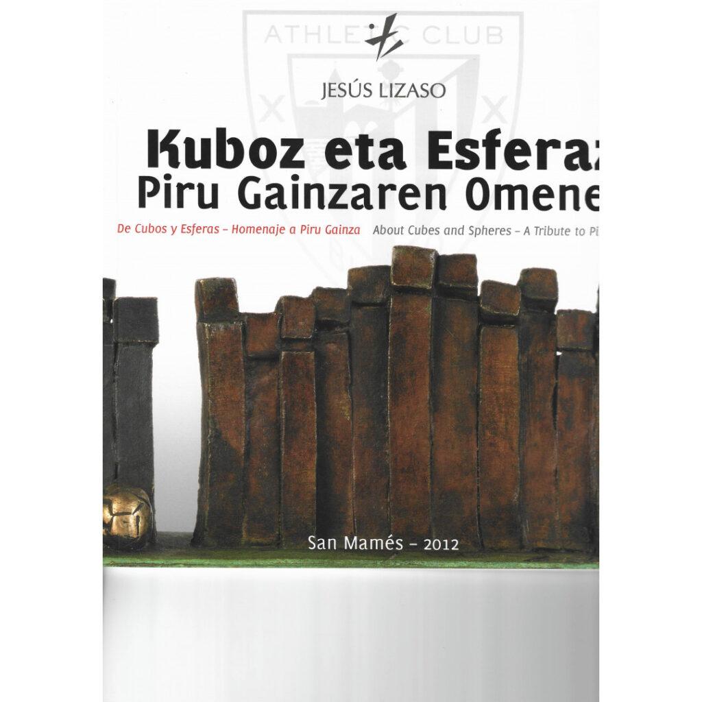 Libro Jesus Lizaso – De cubos y esferas – Homenaje a Piru Gainza